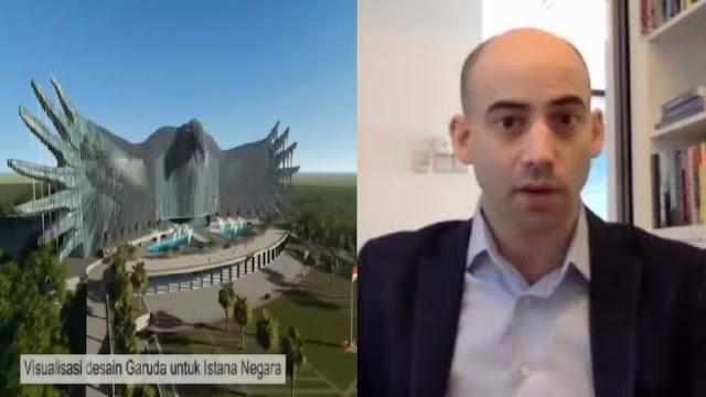 Jokowi Pamer Rancangan Istana Baru, Pengamat Asing: Apakah RI Mampu Membiayainya?