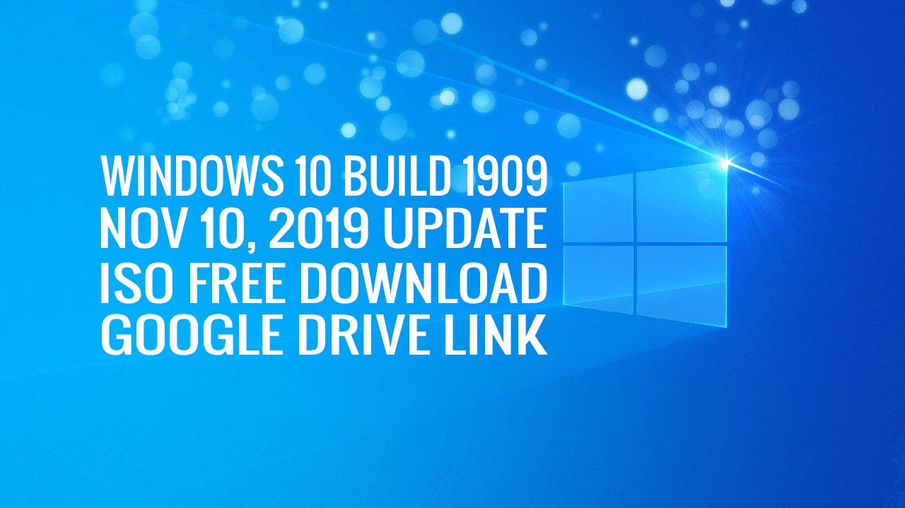 Windows 10 Build 1909