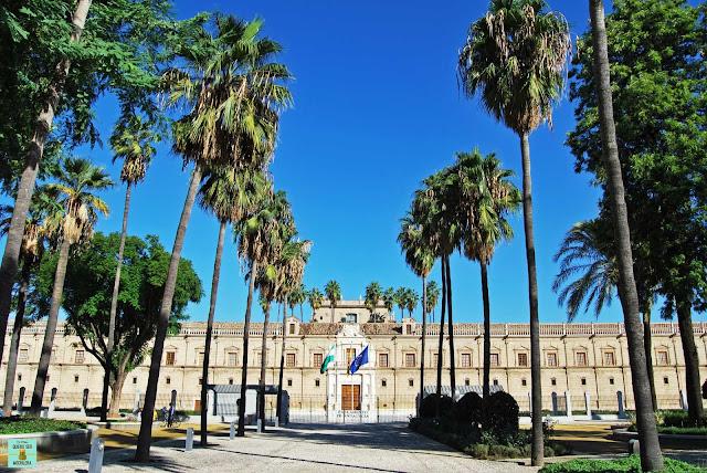Parlamento de Andalucía, Sevilla