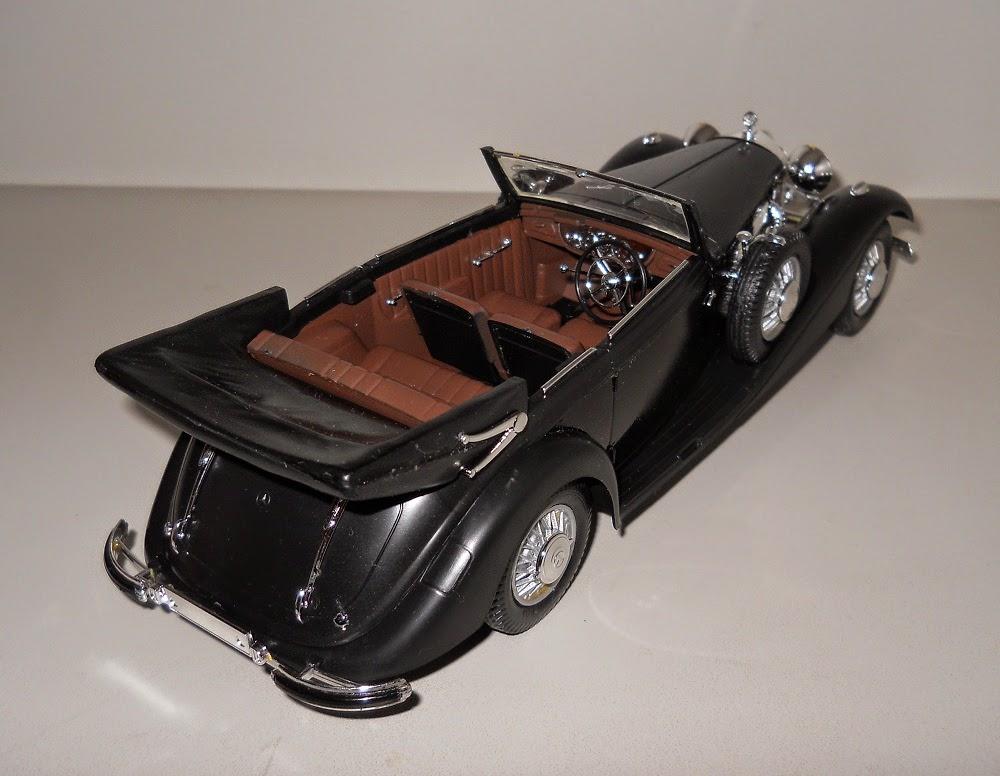 mercedes benz 540-k cabriolet italeri