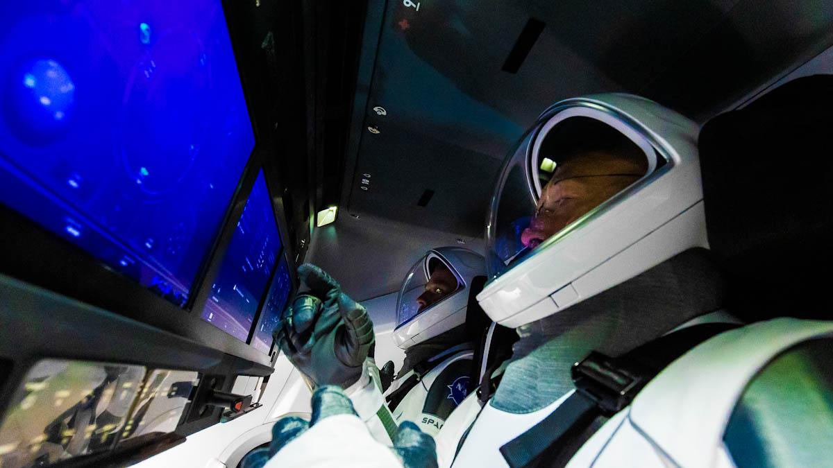 Nasa confirma data de lançamento da missão Crew-1
