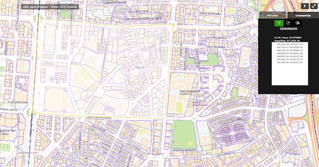 plano de zona de Madrid