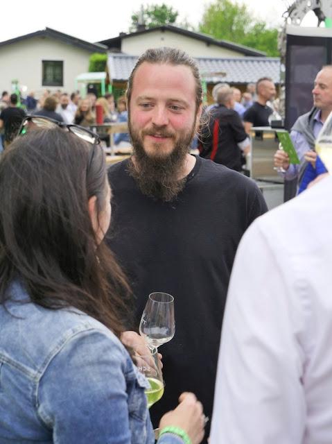 Michel Schott, Winzer und Organisator des Räuberball Kulinarik Festival in Wallhausen an der Nahe.