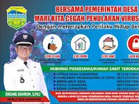 Download Spanduk Tanggap Darurat Virus Corona.cdr