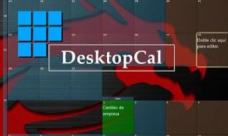 برنامج, التقويم, وادارة, المواعيد, وتسجيل, الملاحظات, لسطح, مكتب, الكمبيوتر, DesktopCal