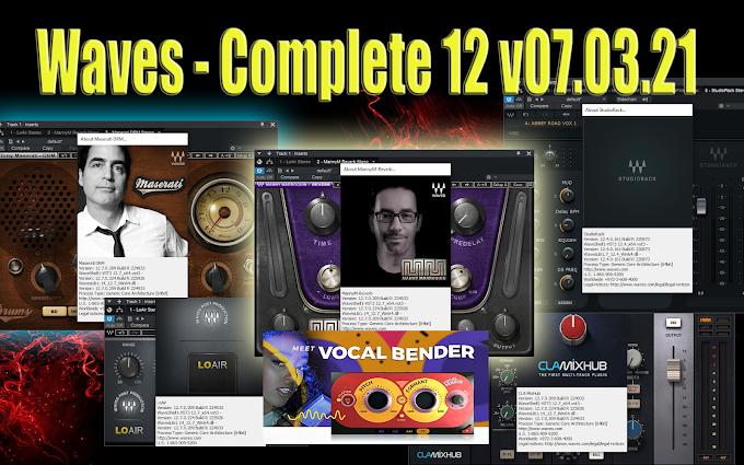Waves - Complete 12 v07.03.21 STANDALONE, VST, VST3, AAX x64