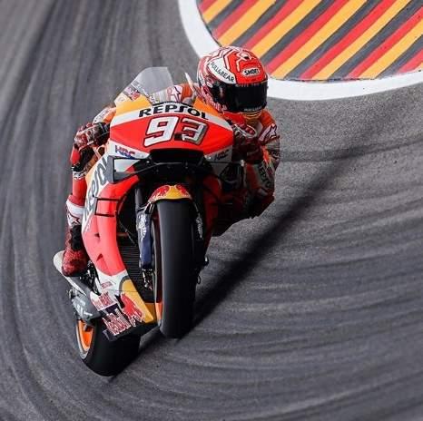 Marc Marquez juara MotoGP Sachsenring Jerman 2019