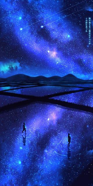 Cùng ngắm bầu trời sao đầy sắc màu
