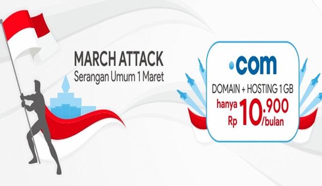 Promo Domain Murah Maret 2019 - Rumahweb