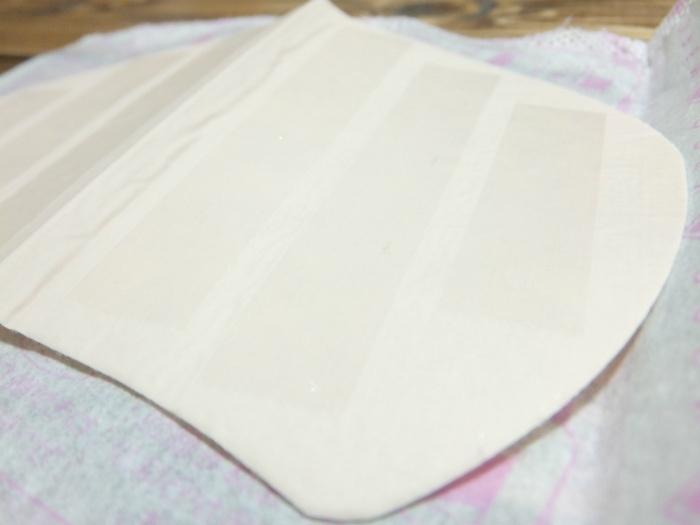 テックスメックスの汗わきパッドの形状