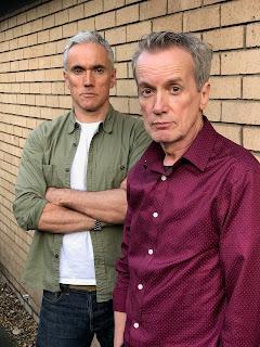 Ben Miles and Frank Skinner together