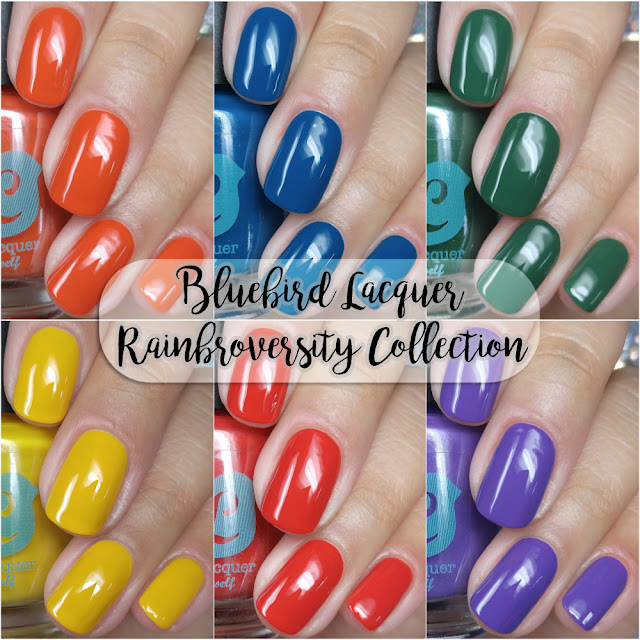 Bluebird Lacquer - The Rainbroversity Collection