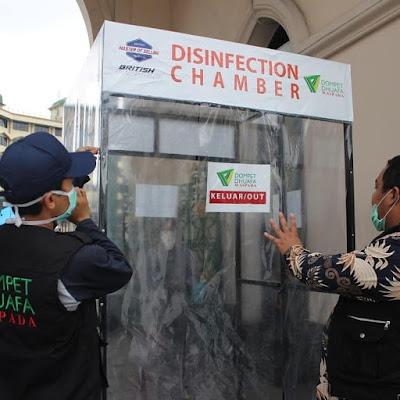 Bilik Sterilisasi di Masjid Raya Medan