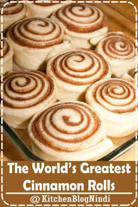 The World's Greatest Cinnamon Rolls #EasyDesserts #cakemix #bettycrocker