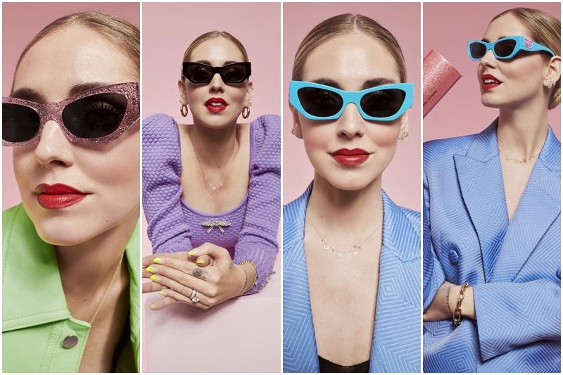 Chiara Ferragni'nin son moda güneş gözlükleri