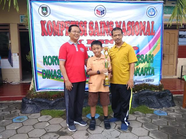 SD Kalam Kudus Juara 1 Kompetisi Sains Nasional Tingkat Kecamatan