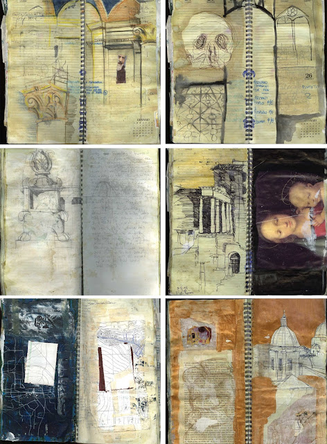 Jen McCleary, Sketchbook Conversations, My Giant Strawberry Blog, sketchbooks, artists, inspiration