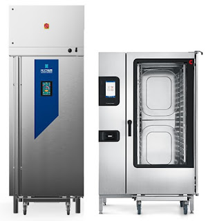 The Nuovair Blast Chiller and Convotherm 20.20 roll-in combi oven make ideal kitchen companions to prepare and preserve quality foods.