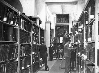 Magazyn książek lwowskiego Ossolineum