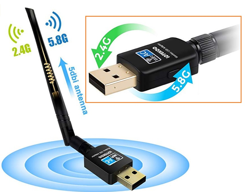 ac600 wifi adapter driver download