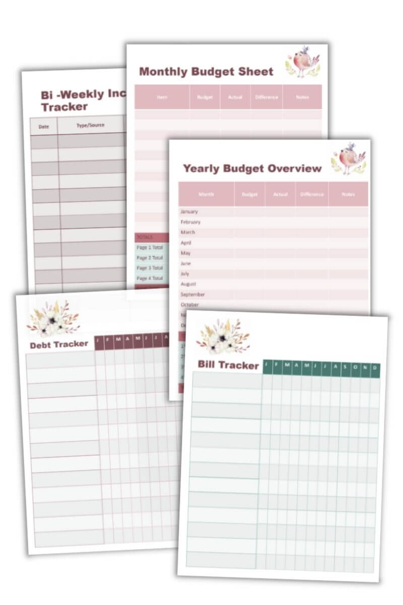 Home Management Binder Printables For Home And Life Organization