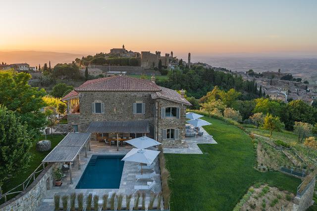 villa palazzetta exclusive luxury villa for rent in tuscany montalcino chianti wine region italy
