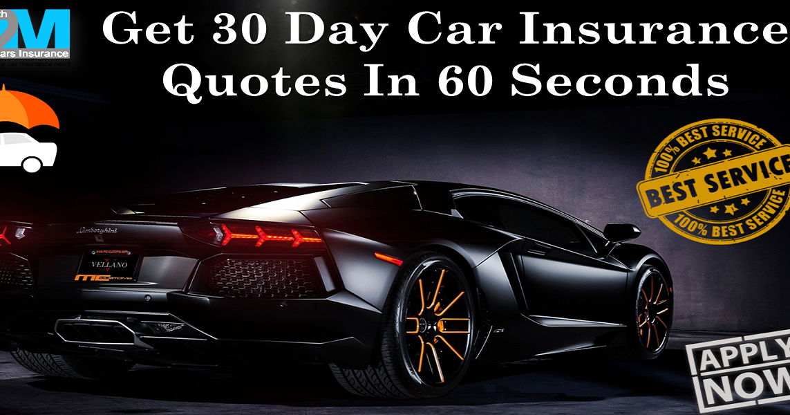 Young Person Car Insurance Quotes: 30 Day Car Insurance Quotes For Bad Drivers With No