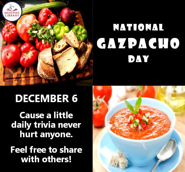 National Gazpacho Day Wishes Sweet Images