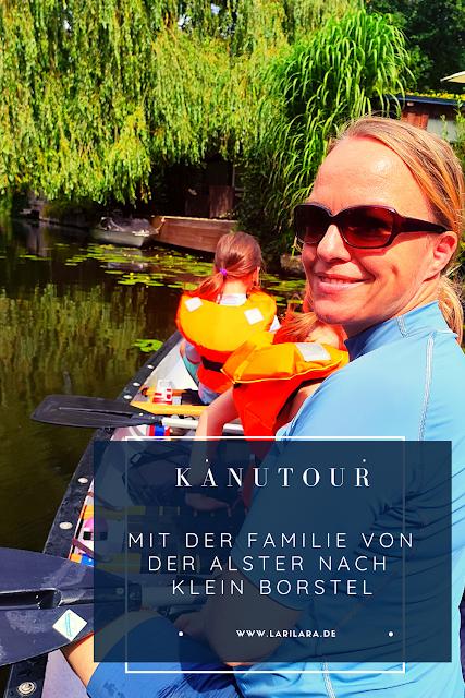 Kanutour mit der Familie in Hamburg
