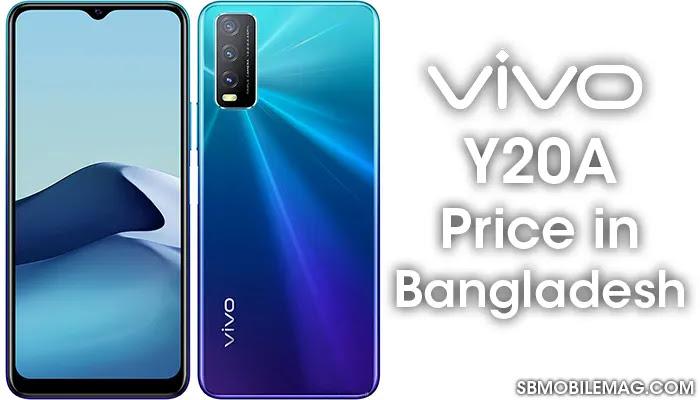 Vivo Y20A, Vivo Y20A Price, Vivo Y20A Price in Bangladesh