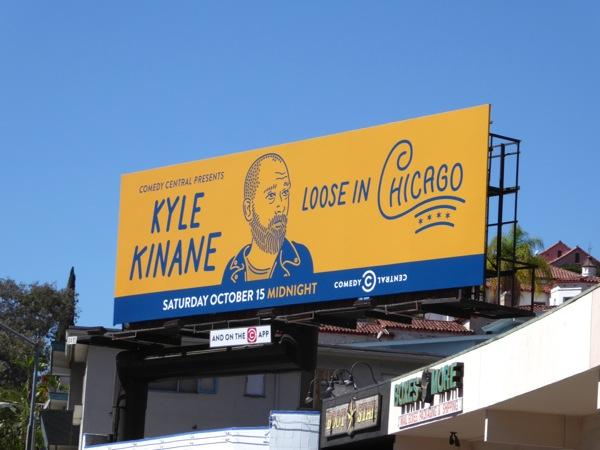 Kyle Kinane Loose in Chicago billboard