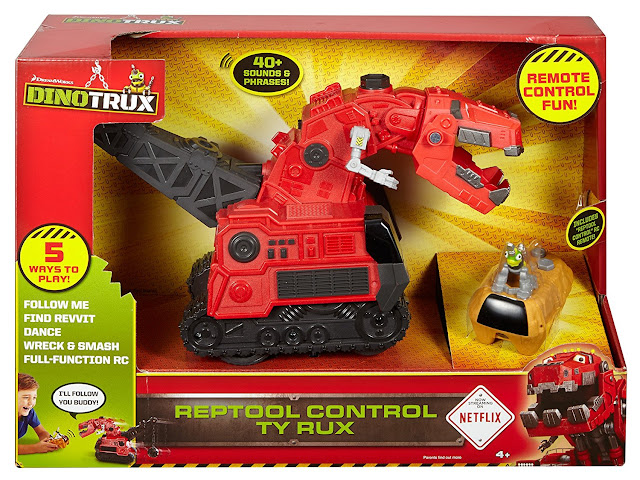 DINOTRUX TOYS review