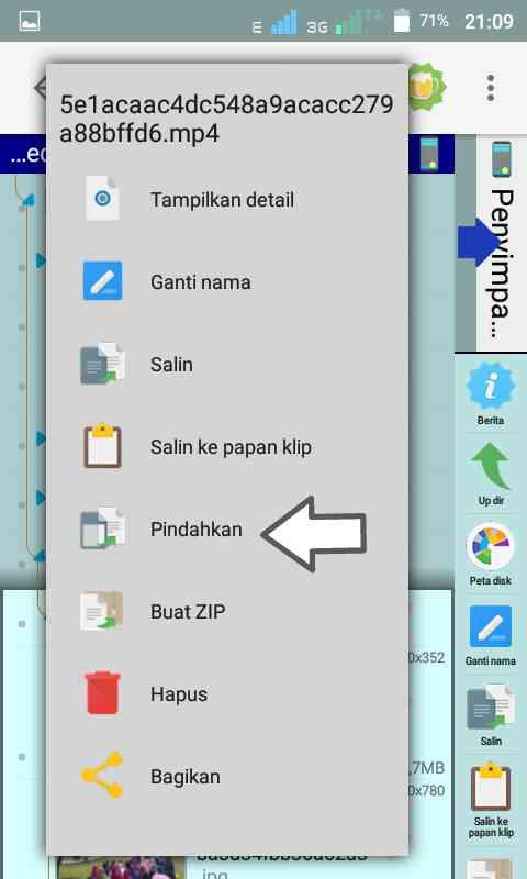 gambar cara download gambar dan video status WhatsApp