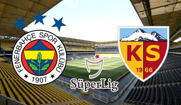Fenerbahçe Kayserispor Canlı maç izle | şifresiz maç izle