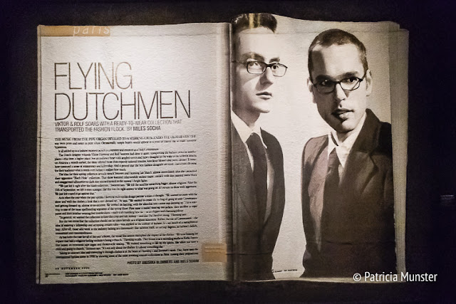Flying dutchmen by Miles Socha with Viktor & Rolf