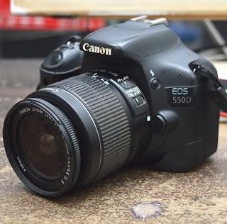 Kamera DSLR Canon Eos 550D di Malang