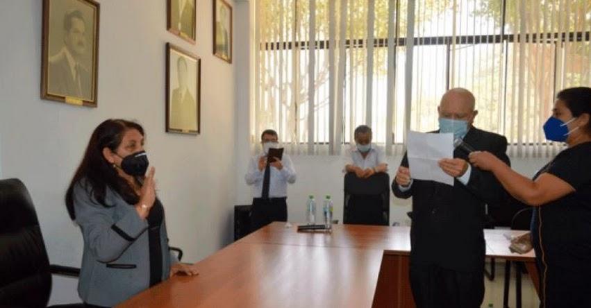 UNPRG: Eligen a Olinda Vigo como rectora encargada de la Universidad Nacional Pedro Ruiz Gallo - Lambayeque