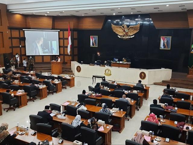 Komisi I DPRD Jabar Laporkan Hasil Kajian Tiga CDPOB