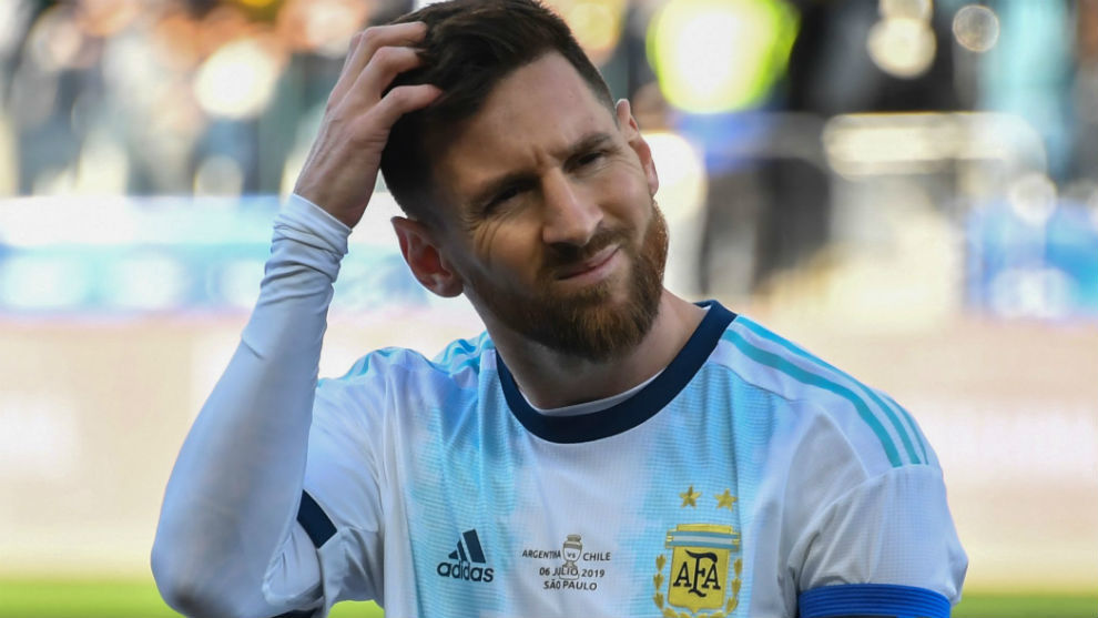 Messi received punishment Messi disqualified for three months