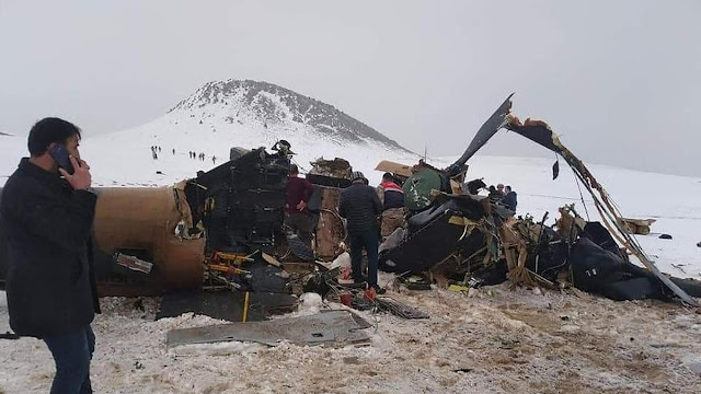 11 killed in military helicopter crash in Turkey