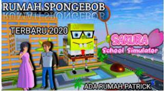 ID Rumah Spongebob di Sakura School Simulator Cek Disini