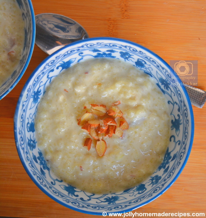 Royal Rice Pudding