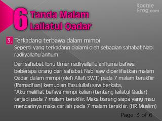 6 Tanda-tanda turunnya Malam Lailatul Qadar 3