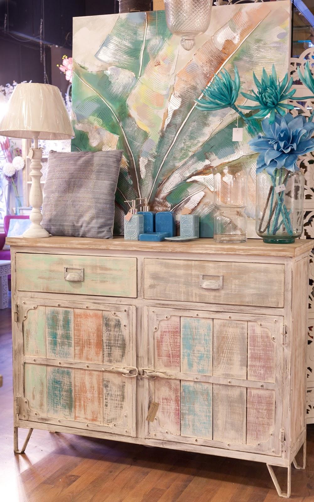 Katatori Interiores La Vie En Rosa Y Turquesa  # Muebles Turquesa