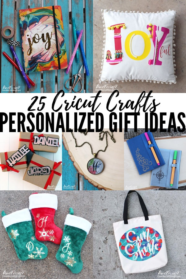 25 Personalized Handmade Gift Ideas with Cricut