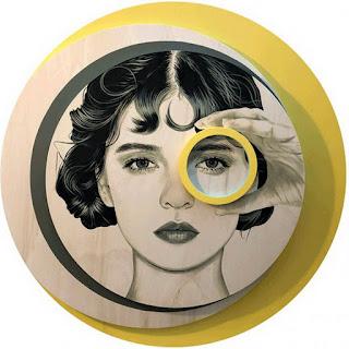 retratos-de-mujeres-con-figuras-geometricas cuadros-mujeres-figuras-geometricas