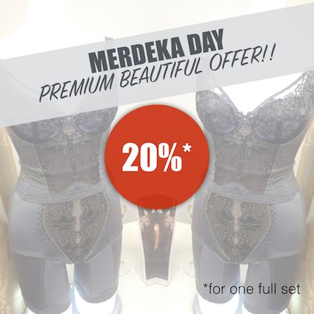 premium beautiful merdeka offer