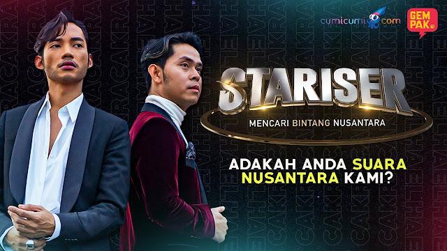 Hael Husaini dan Cakra Khan Ingin Mencari Bintang Nusantara di Stariser