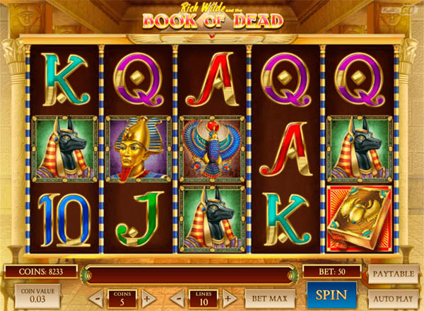 Main Gratis Slot Indonesia - Book of Dead Play N GO