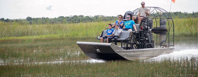 Passeio de barco pelo Everglades National Park